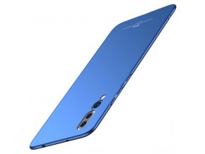 eng pl MSVII Simple Ultra Thin Cover PC Case for Huawei P20 Pro blue 39667 1