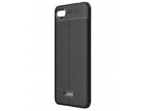 aeng pl Litchi Pattern Flexible Cover TPU Case for Xiaomi Mi A2 Lite Xiaomi Redmi 6 Pro black 42254 1
