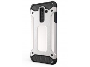 aeng pl Hybrid Armor Case Tough Rugged Cover for Samsung Galaxy A6 Plus 2018 A605 silver 42384 1