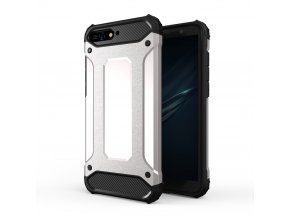 eng pl Hybrid Armor Case Tough Rugged Cover for Huawei Y6 2018 silver 42380 1