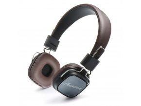 REMAX RM-100H Stereo sluchátka - hnědá