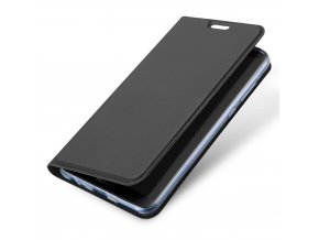 eng pl DUX DUCIS Skin Pro Bookcase type case for Huawei P20 Lite grey 42320 3