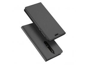 eng pl DUX DUCIS Skin Pro Bookcase type case for Nokia 6 1 grey 42344 1