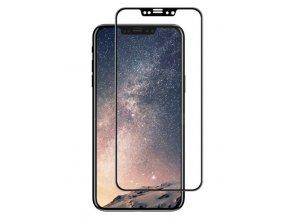 3D tvrzené sklo na iPhone XS Max - černé