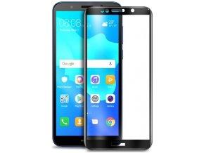 3D Tvrzené sklo na Huawei Y5 2018 černé