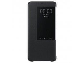Originální pouzdro Flip S-View Cover na Huawei Mate 20 Pro - černé