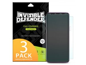 eng pl Ringke Invisible Defender 3x Full TPU Coverage Screen Protector for Samsung Galaxy S9 Plus IFSG0015 RPKG 39102 1