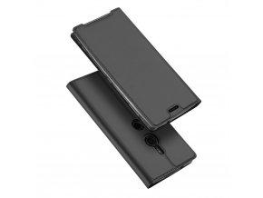 eng pl DUX DUCIS Skin Pro Bookcase type case for Sony Xperia XZ3 grey 44699 1