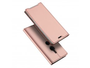 eng pl DUX DUCIS Skin Pro Bookcase type case for Sony Xperia XZ3 pink 44700 1