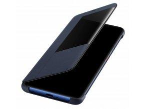 Originální pouzdro Flip S-View Cover pro Huawei Mate 20 Pro - modré