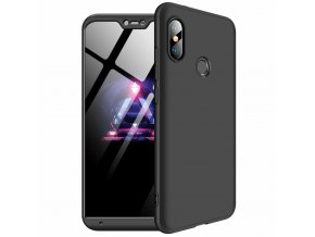 eng pl 360 Protection Front and Back Case Full Body Cover Xiaomi Mi A2 Lite Redmi 6 Pro black 45192 1