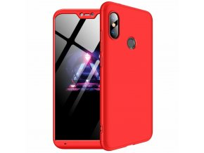 eng pl 360 Protection Front and Back Case Full Body Cover Xiaomi Mi A2 Lite Redmi 6 Pro red 45195 1