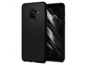 eng pl Spigen Liquid Air Armor Flexible Case TPU Cover for Samsung Galaxy A8 2018 A530 black 38192 1