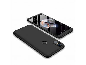 eng pl 360 Protection Front and Back Case Full Body Cover Xiaomi Mi A2 Mi 6X black 45186 1