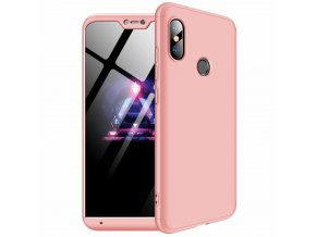 eng pl 360 Protection Front and Back Case Full Body Cover Xiaomi Mi A2 Lite Redmi 6 Pro pink 45197 1