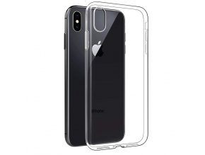UVR Ultra Thin Transparent Soft TPU Case for iPhone Xs Slim Clear Protective Silicone Cover for (5)