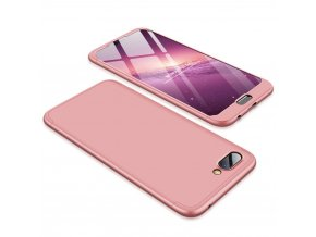 eng pl 360 Protection Front and Back Case Full Body Cover Huawei Honor 10 pink 45374 1