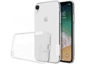 eng pl Nillkin Nature TPU Case Gel Ultra Slim Cover for iPhone XR transparent 44620 1