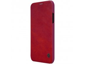 eng pl Nillkin Qin original leather case cover for iPhone XR red 44624 1