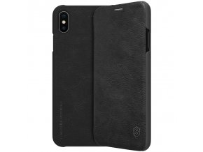 eng pl Nillkin Qin original leather case cover for iPhone XS Max black 44626 23