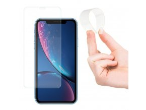 eng pl Wozinsky Nano Flexi Glass Hybrid Screen Protector Tempered Glass for iPhone XR 45206 12