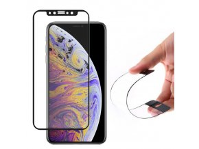 eng pl Wozinsky Full Cover Flexi Nano Glass Hybrid Screen Protector with frame for iPhone XS Max black 45168 1