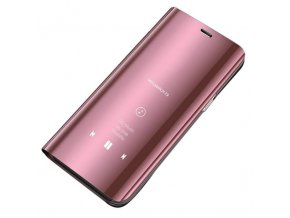 eng pl Clear View Case cover with Display for Xiaomi Redmi Note 5 dual camera Redmi Note 5 Pro pink 45981 1