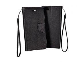 PU kožené pouzdro na Xiaomi Mi Max 3 - černé