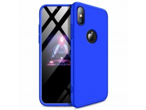 eng pl 360 Protection Front and Back Case Full Body Cover iPhone XR blue logo hole 45684 1