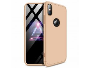 eng pl 360 Protection Front and Back Case Full Body Cover iPhone XR golden logo hole 45686 1