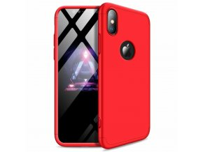 eng pl 360 Protection Front and Back Case Full Body Cover iPhone XR red logo hole 45685 1