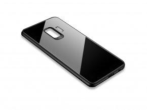 Skleněný kryt na Samsung Galaxy J6 Plus - černý