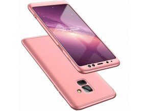 eng pl 360 Protection Front and Back Case Full Body Cover Samsung Galaxy A8 2018 A530 pink 45430 1