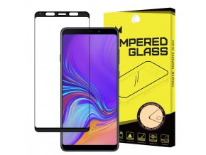 eng pl Wozinsky Tempered Glass Full Glue Super Tough Screen Protector Full Coveraged with Frame Case Friendly for Samsung Galaxy A9 2018 A920 black 45526 5