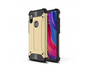 eng pl Hybrid Armor Case Tough Rugged Cover for Xiaomi Redmi Note 6 Pro golden 46238 8