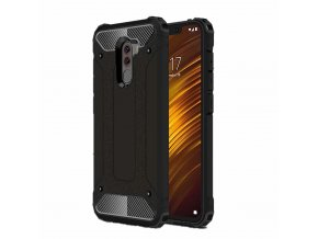 eng pl Hybrid Armor Case Tough Rugged Cover for Xiaomi Pocophone F1 black 45999 1
