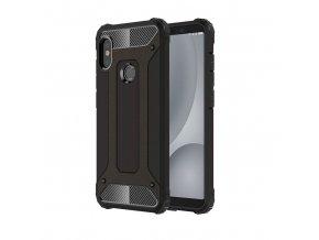 eng pl Hybrid Armor Case Tough Rugged Cover for Xiaomi Mi A2 Lite Redmi 6 Pro black 45735 1