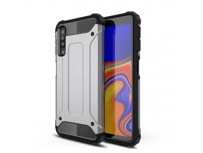 eng pl Hybrid Armor Case Tough Rugged Cover for Samsung Galaxy A7 2018 A750 silver 45729 1 (1)