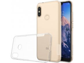 eng pl Nillkin Nature TPU Case Gel Ultra Slim Cover for Xiaomi Redmi Note 6 Pro transparent 46294 1
