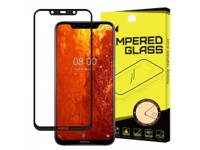 eng pl Wozinsky Tempered Glass Full Glue Super Tough Screen Protector Full Coveraged with Frame Case Friendly for Nokia 8 1 Nokia X7 black 46590 1