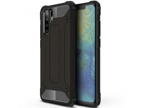 eng pl Hybrid Armor Case Tough Rugged Cover for Huawei P30 Pro black 46568 1