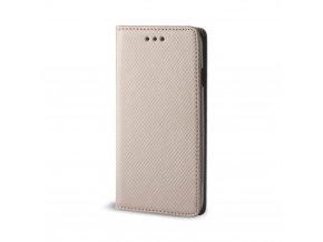 magnetické flipové pouzdro na LG V30 zlaté