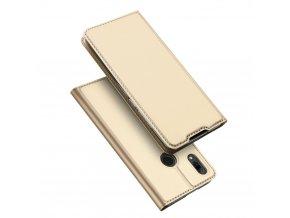 eng pl DUX DUCIS Skin Pro Bookcase type case for Huawei P Smart 2019 golden 47001 1