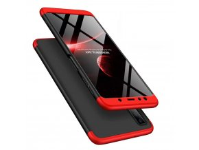 eng pl 360 Protection Front and Back Case Full Body Cover Samsung Galaxy A9 2018 A920 black red 47430 2