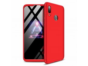 eng pl 360 Protection Front and Back Case Full Body Cover Huawei P Smart 2019 red 47426 1