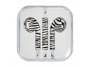 eng pl Headphones with microphone iPhone iPad iPod zebra Style 1 48794 2