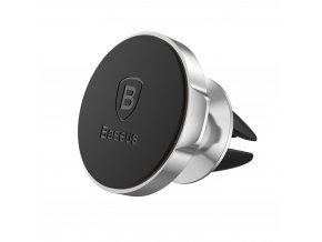 eng pl Baseus Small Ears Series Universal Air Vent Magnetic Car Mount Holder silver SUER A0S 22016 1