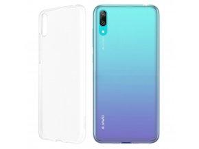 Originální Gelový kryt Huawei na Huawei Y6 2019 - transparentní