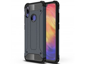 eng pl Hybrid Armor Case Tough Rugged Cover for Xiaomi Redmi Note 7 blue 48125 1