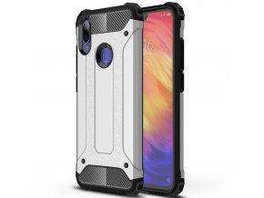 eng pl Hybrid Armor Case Tough Rugged Cover for Xiaomi Redmi Note 7 silver 48127 1